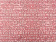 Cotton fabric with graphic pattern GRENADINES KEYS - KOHRO