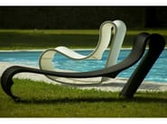 Technical fabric lounge chair / garden bed CALIFORNIA | Lounge chair - AREA DECLIC