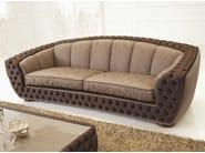 Tufted fabric sofa FLORENCE | Fabric sofa - Formenti