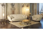 Tufted leather sofa SPACE | Sofa - Formenti