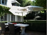 Double adjustable Garden umbrella PARAFLEX DUOFLEX - Umbrosa