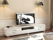 Low lacquered TV cabinet HELIA | TV cabinet - Formenti