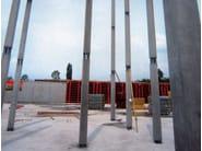 Mixed steel-concrete beam and column Column PTC® NPS® 25 x 25 cm - Tecnostrutture
