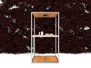 Wooden outdoor shower WAZEBO - Kos by Zucchetti