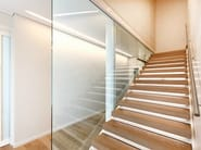 Special open stairs VISTA PROJECT - OFFICINE SANDRINI