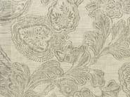 Damask linen fabric AQUITAINE - KOHRO