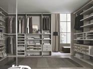 Wooden walk-in wardrobe MILLIMETRICA | Walk-in wardrobe - MisuraEmme