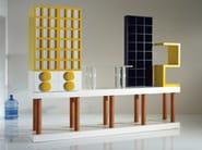 Storage unit with doors with drawers Storage unit - OAK Industria Arredamenti