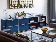 Sectional modular metal storage unit USM HALLER SIDEBOARD FOR LIVING ROOM | Storage unit - USM Modular Furniture
