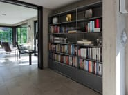 Open sectional metal bookcase USM HALLER BOOKSHELVES | Sectional bookcase - USM Modular Furniture