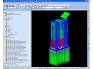 Structural calculation for pre-compressed reinforced concret MIDAS Gen - MIDAS IT