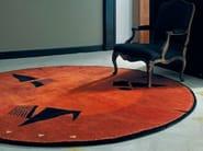 Handmade wool rug CÉLIMÈNE | Round rug - Toulemonde Bochart
