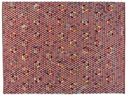 Rectangular rug with geometric shapes TRIANGLEHEX SWEET PINK - Golran