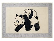 Rectangular kids rug PANDA - Toulemonde Bochart