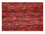 Rectangular striped rug NEW AGE - Toulemonde Bochart