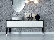 Lacquered wooden vanity unit with drawers COCO | Lacquered vanity unit - FALPER