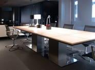 Rectangular wooden meeting table MR 1.8 | Rectangular meeting table - JOSE MARTINEZ MEDINA