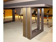 Rectangular wooden meeting table MARCUS | Rectangular meeting table - JOSE MARTINEZ MEDINA