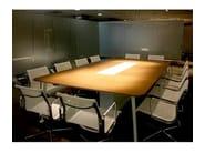 Rectangular meeting table COMPANY MEETING - JOSE MARTINEZ MEDINA