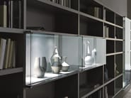 Sectional lacquered storage wall CROSSING TEKA | Sectional storage wall - MisuraEmme