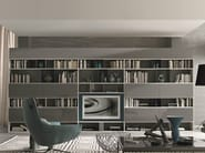 Sectional lacquered storage wall URBAN | Storage wall - MisuraEmme