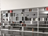 Open double-sided divider bookcase URBAN | Bookcase - MisuraEmme