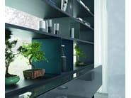 Open double-sided divider bookcase URBAN   Divider bookcase - MisuraEmme