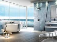 Steel overhead shower NEXT   Overhead shower - FIMA Carlo Frattini