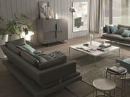Leather sofa BORDERLINE | Leather sofa - MisuraEmme