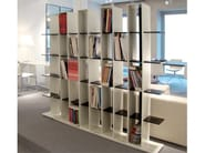 Open freestanding shelving unit CULTURE BOX - JOSE MARTINEZ MEDINA
