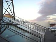 Metal Suspended walkway PENTAGONAL skywalks - Pentagonal