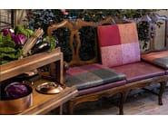 Cotton and silk fabric with floral pattern MARILIA - KOHRO