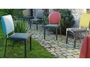 Taupe rectangular chair ADULIS | Chair - GAUTIER FRANCE