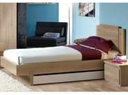 Bed with headboard TWEED | Bed - GAUTIER FRANCE