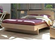 Wooden double bed TWEED | Double bed - GAUTIER FRANCE