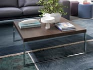 Coffee table for living room PLAZA | Square coffee table - Bontempi Casa