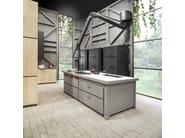 Lacquered kitchen with island MINÀ HOME - Minacciolo