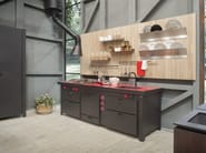 Fitted wooden Kitchen backsplash WALL-PLAY - Minacciolo