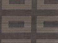 Cotton fabric with graphic pattern TASSILO GRAIN - KOHRO