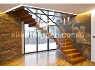 modern staircase zig zag design