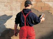 Skim coat and cementitious finish for plaster RASO - TECHNOKOLLA - Sika
