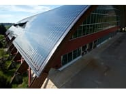 Support for photovoltaic system SOLAR FRAME - ISCOM