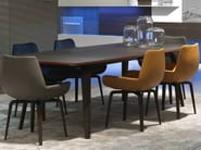 Lacquered solid wood table GRAMERCY | Table - MisuraEmme