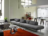 Fabric sofa DAKOTA | 5 seater sofa - Bontempi Casa