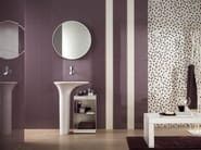 Porcelain stoneware wall tiles with mosaic effect