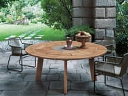 Round teak table BRICK | Round table - RODA