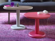 Round wooden coffee table ERCOLINO - Miniforms