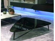Contemporary style glass coffee table GRAMERCY | Glass coffee table - MisuraEmme