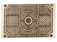 Patterned rectangular rug JARDIN A LA FRANCAISE - ROCHE BOBOIS