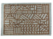 Patterned rectangular rug INDUSTRIEL - ROCHE BOBOIS